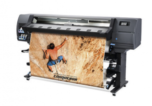PCG increases its large-format equipment pool with the new HP Latex 335 printer operating with ecological inks