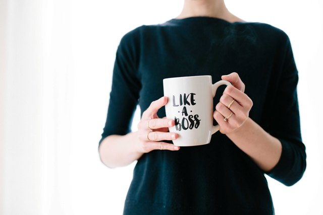 Journée Internationale de la Femme 2018 Photo Mug Like A Boss
