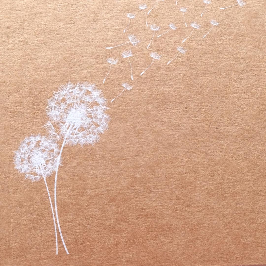 Impresión tinta blanca papel Kraft- PCG Barcelona