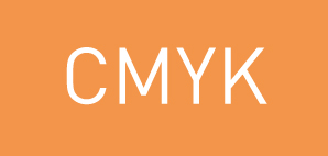 Exemple of an Orange shade in CMYK - PCG Bacelona