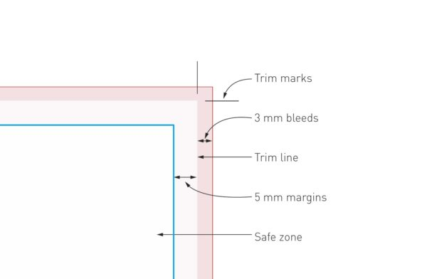 Example Trim marks and bleeds - PCG Barcelona