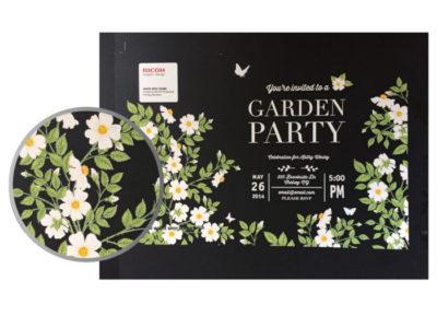 Garden Party Invitation Ricoh - PCG Print