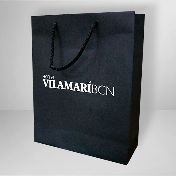 Printed bags for hotels and restaurants - PCG Barcelona