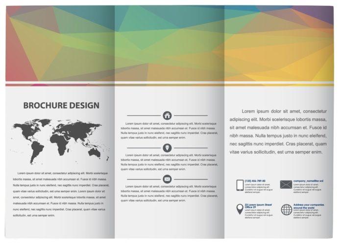 Template de Brochure ouvert - Conseils Design PCG Barcelona