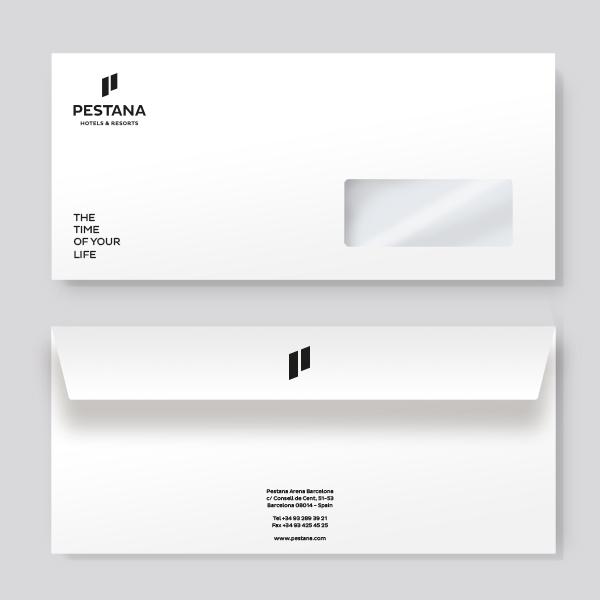 Impression d'enveloppes pour l'hôtellerie - PCG Barcelone