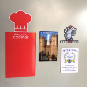 Trade show communication tools : Magnets - PCG Barcelona