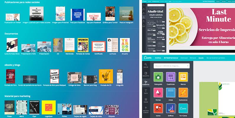 Design Tool : Canva - PCG Barcelona