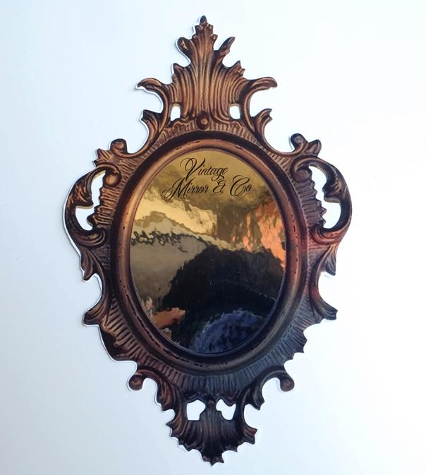 Mirror effect vinyl sticker - PCG Barcelona