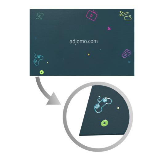 Impressions vernis UV Carte de visite Adjomo