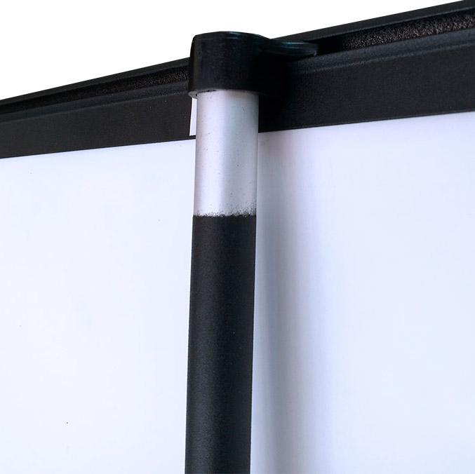 Roll Up con Estructura Deluxe Negro - PCG Barcelona