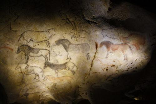 Grotte technique d'impression du « pochoir » - PCG Barcelone