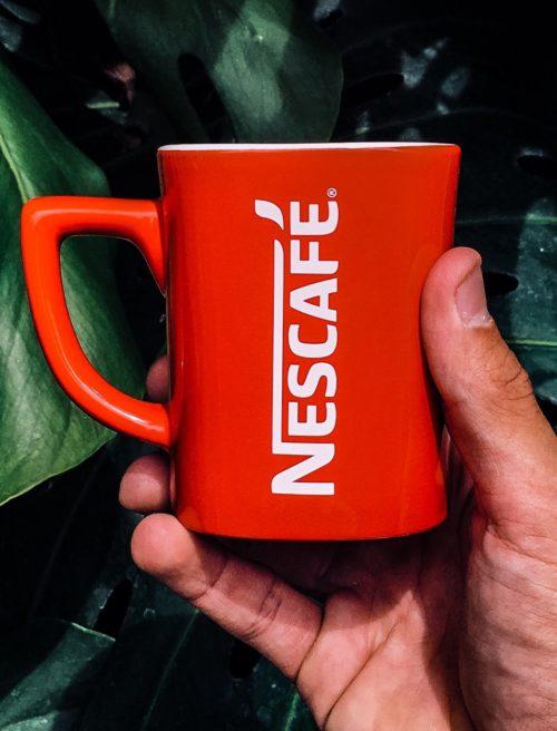 Taza Nescafé Producto Promocional Publicidad - PCG Barcelona