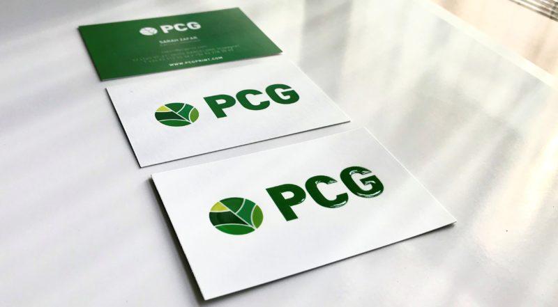 Bien choisir le papier en fonction du produit que vous souhaitez imprimer: cartes de visite - PCG Barcelona